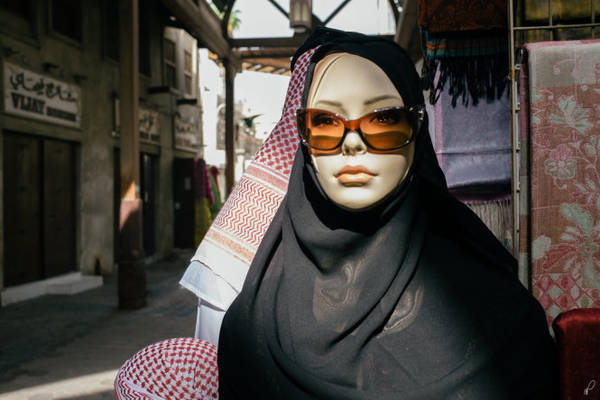 In 2009, the Iranian government banned people from displaying mannequins in the shop without wearing a shawl - Image: Flickr