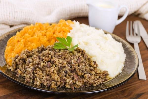 Haggis was not allowed on the US menu for 40 years - Photo: hendersonhamilton