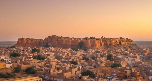 "Jaisalmer, ""Golden City"" của Ấn Độ - Ảnh: wp"