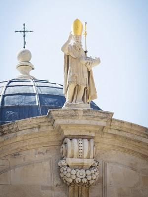 Bức tượng thánh bảo hộ Vlaho