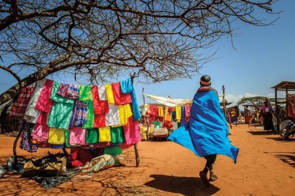 Quận Samburu ở Kenya - Ảnh: National Geographic