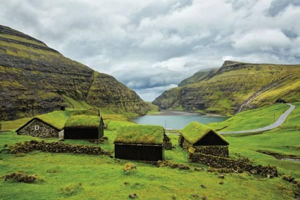 Quần đảo Faroe ở Đan Mạch - Ảnh: National Geographic