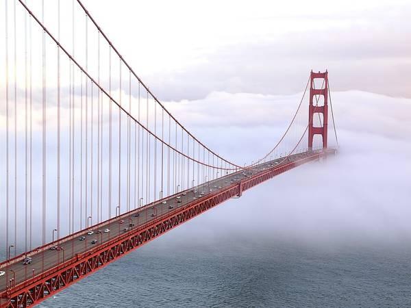 Cầu Cổng Vàng, San Francisco, California. Ảnh: Getty.