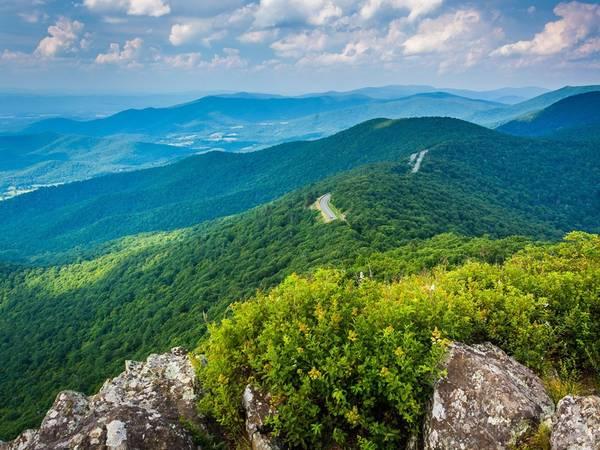 Công viên quốc gia Shenandoah, bang Virginia. Ảnh: Alamy.