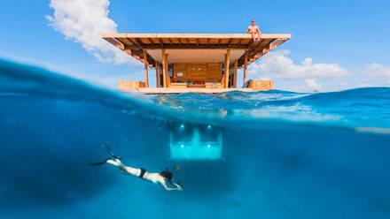 Lặn ở vùng biển xung quanh Manta Resort, Zanzibar. Ảnh: Jesper Anhede.