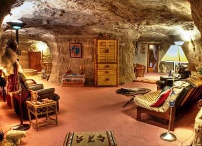 Một phòng trong hang Kokopelli. Ảnh: AP.