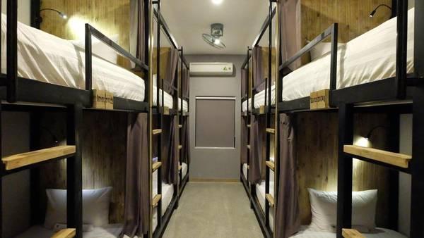 Đặc trưng của 9 Station là một khu nhà nghỉ tập thể với những căn phòng rộng cùng những chiếc giường tầng đầy đủ tiện nghi.
