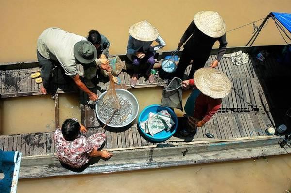 Mùa này cá nhiều, người dân ăn không hết thì làm mắm. Mắm Châu Đốc có tiếng miền Nam.