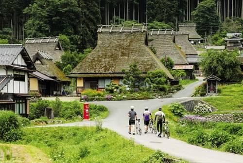 Không gian Nhật Bản cổ xưa