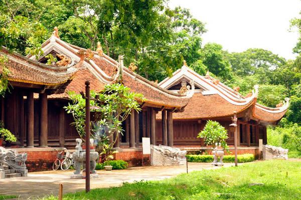 Đền thờ các vua Lê tại thành điện Lam Kinh, Thanh Hóa - Ảnh: Trần Thế Dũng
