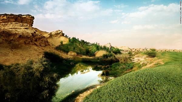8. Al Ain: Một thành phố ốc đảo nằm giữa sa mạc. Nơi đây được ví như thiên đường với cảnh quan thiên nhiên phong phú.