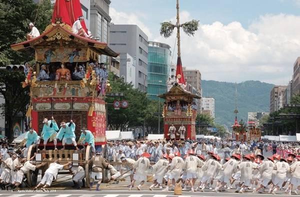 Lễ hội Gion ngăn ngừa thiên tai.