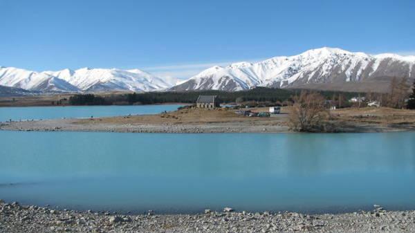 Hồ Tekapo, New Zealand