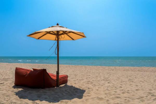 Bãi biển Cha-am ở tỉnh Phetchaburi