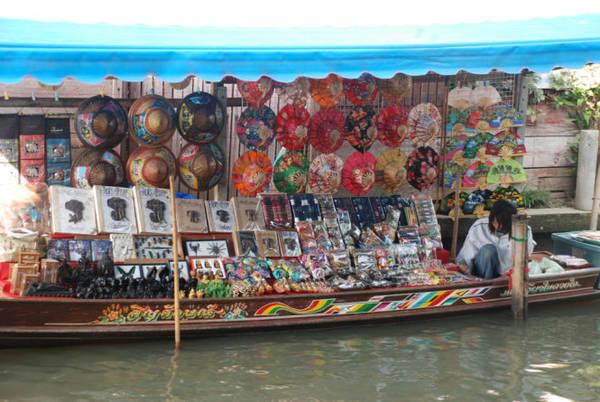 Chợ nổi ở Damnoen Saduak, Ratchaburi