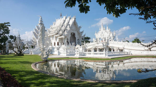 Đền trắng ở Chiang Rai