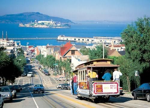 Cable car, một trong những biểu trưng của San Francisco