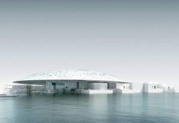 Abu Dhabi, UEA: Mặc dù theo kế hoạch là sẽ được mở năm nay, bảo tàng kiểu Louvre ở UEA sẽ được mở cửa năm 2017. Du khách không nên bỏ lỡ dịp ghé thăm tòa nhà tương lai trông như trôi nổi trên mặt hồ nhân tạo với các tác phẩm nghệ thuật của các danh hoạ như Van Gogh, da Vinci và Monet mượn từ Louvre của Paris. Ảnh: Facebook / Louvre Abu Dhabi.