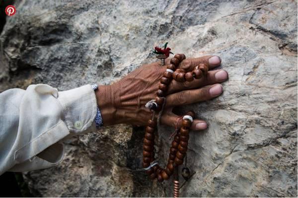 Một chuỗi hạt cầu nguyện của người Tạng.