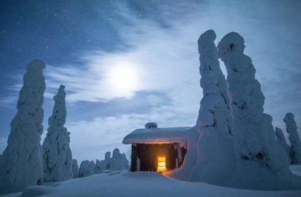 Lapland lạnh đến -50 vào mùa đông