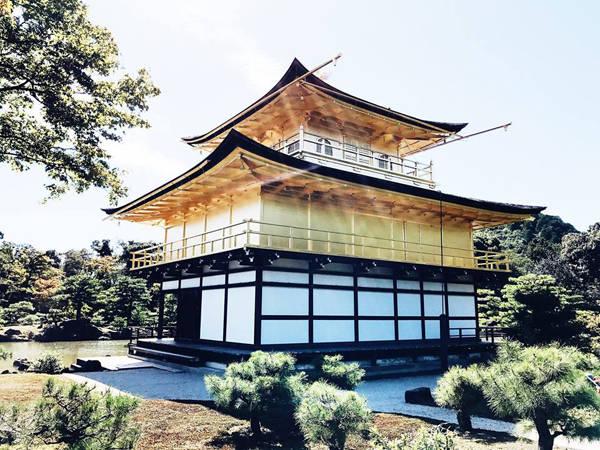 Chuyến đi của hai vợ chồng Thúy kéo dài trong 3 tuần, khám phá được khá nhiều điểm đến ở Tokyo, Kyoto và Osaka. Rất yêu thích các công trình kiến trúc đình đền, chùa chiền nên Thúy dành nhiều thời gian để tham quan các danh thắng cổ kính này như chùa Kinkaku-ji ở Kyoto, đền Asakusa Sensoji, đền Meiji, chùa Shitennoji, đền Osaka Tenmangu, đền Sankō Shrine...