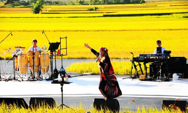 Thường trước khi gặt lúa, người dân ở quanh đây sẽ tổ chức rất nhiều lễ hội để tiếp đón khách du lịch và cũng để cảm tạ vì được trúng mùa.