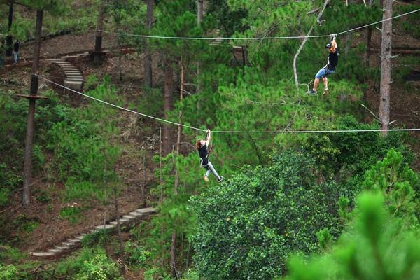 Ảnh: Datanla High Rope Course
