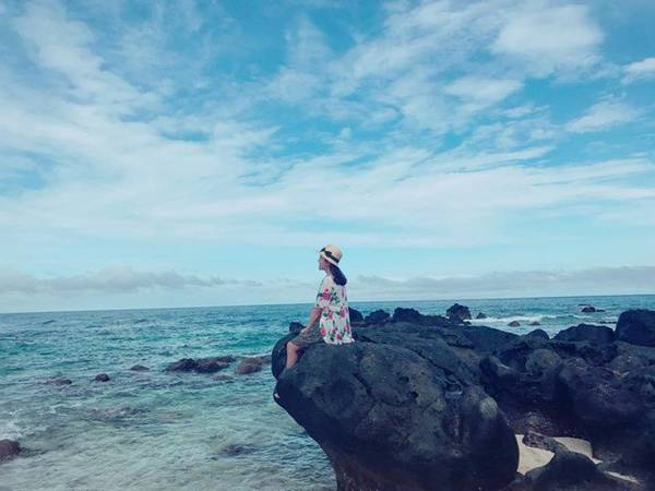Lý Sơn. Ảnh: Thảo Nhi
