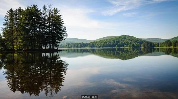 Địa điểm lý tưởng để dã ngoại Công viên Allegany tại New York tạo đường biên phía bắc với khu rừng Allegheny. Công viên cũng là nơi có rất nhiều du khách tới bởi có các nhà nghỉ bằng gỗ, hàng cho thuê thuyền, nhiều con đường để đạp xe, sân chơi và khu dã ngoại nằm bên hồ Red House.