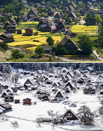Làng lịch sử Shirakawa-Gō, Nhật Bản