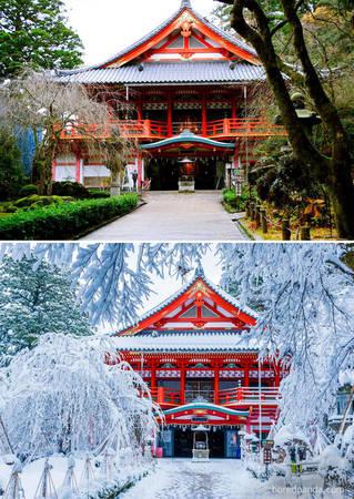 Đền Natadera, Komatsu, Nhật Bản