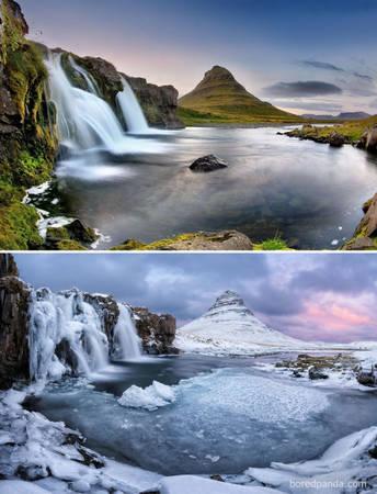 Hồ Kirkjufell, Iceland