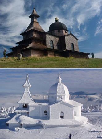 Núi Radhost, CH Czech