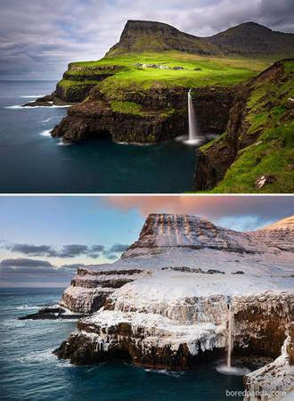 Gásadalur, quần đảo Faroe