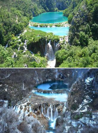 Công viên quốc gia hồ Plitvice, Croatia