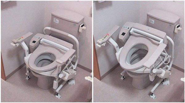 Toilet công nghệ cao Một trong những điều làm du khách ấn tượng nhất về Nhật Bản chính là nhà vệ sinh hiện đại. Toilet của họ được cải tiến và thêm vào nhiều chức năng khác nhau, giúp người dùng thoải mái hết mức có thể, từ phun nước rửa, sấy khô, tạo âm thanh, khử mùi...