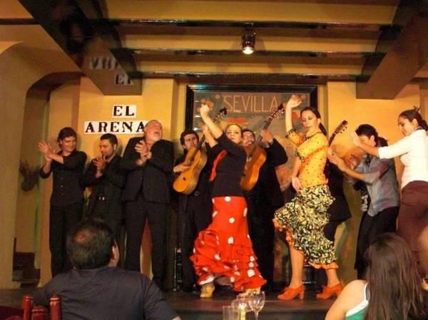 Sô diễn flamenco ở khán phòng El Arenal ở Sevilla - Ảnh: wp