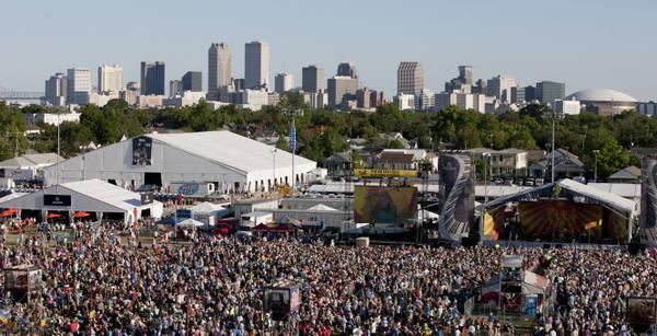 Lễ hội Jazz Fest tổ chức hằng năm ở New Orleans - Ảnh: munck-music.com