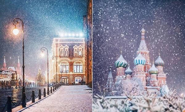 Khung cảnh mùa đông của nước Nga được nhiều độc giả bình luận là không khác gì trong những câu chuyện cổ tích mà họ từng tưởng tượng.