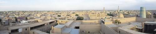 Toàn cảnh ốc đảo Khiva