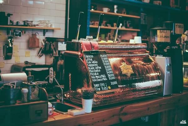 Tiệm cà phê Giyanti là nơi được nhiều du khách đánh giá rất cao vì những tách Espresso ngon tuyệt hảo. Ảnh: Eatandtreats.