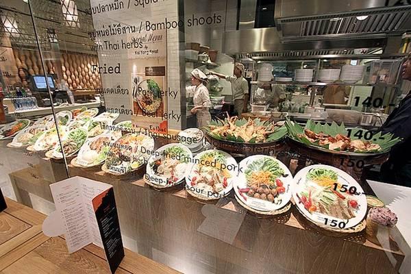 Các món ăn ở Eathai vô cùng phong phú, đến từ khắp các vùng miền ở Thái Lan. Ảnh: Melicacy.