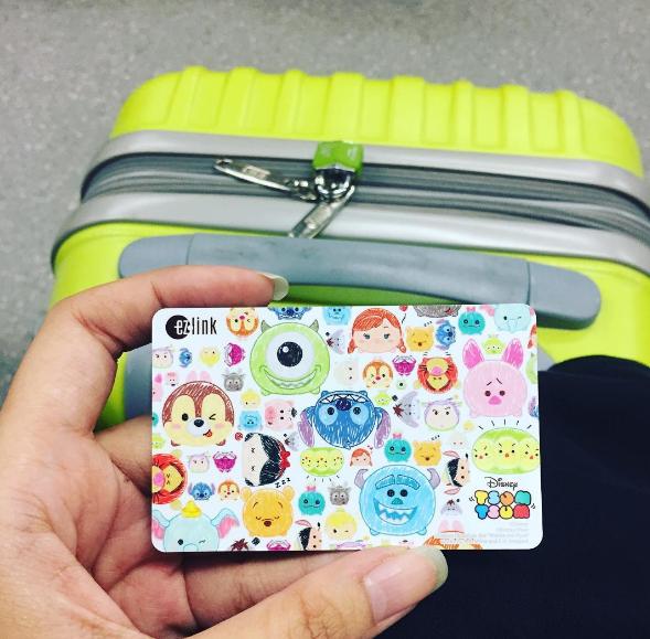 Thẻ EZ Link với nhiều màu sắc ngộ nghĩnh. Ảnh:@wiwiidmua