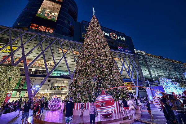 Baiyoke Sky rất gần các trung tâm thương mại lớn ở Bangkok. Ảnh:@Tattooizm