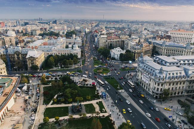 Thủ đô Bucharest của Romania nổi tiếng với những món ăn tuyệt ngon đồng thời sở hữu không ít các công trình kiến trúc phong cách Art Nouveau