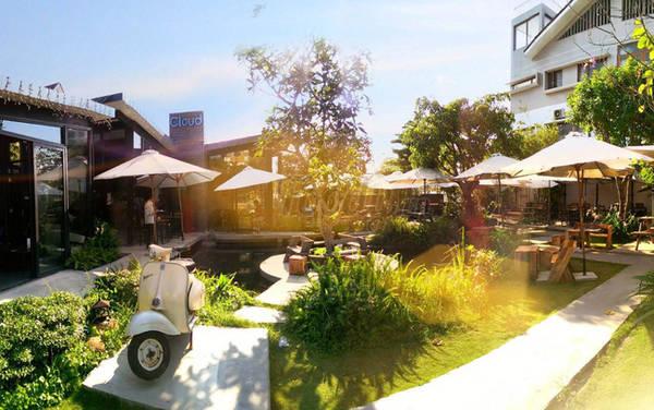 """Quán cafe với tên gọi bồng bềnh như một """"vườn mây"""" xinh đẹp."""