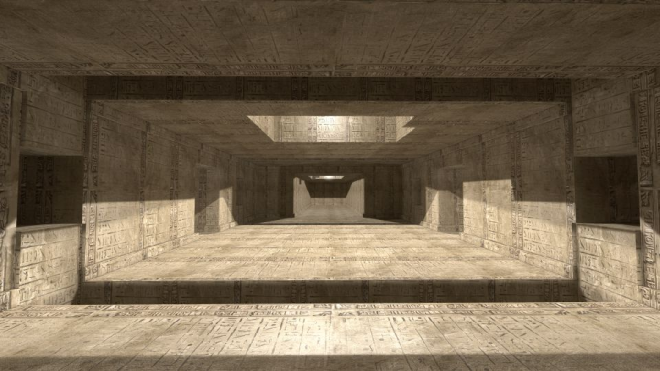 Các ống thông gió trong kim tự tháp Kheops là chủ đề bàn tán của các nhà khảo cổ. Họ nghĩ rằng đây là thứ tượng trưng để linh hồn của nhà vua dễ dàng sang với thế giới bên kia. Ảnh: mik38.