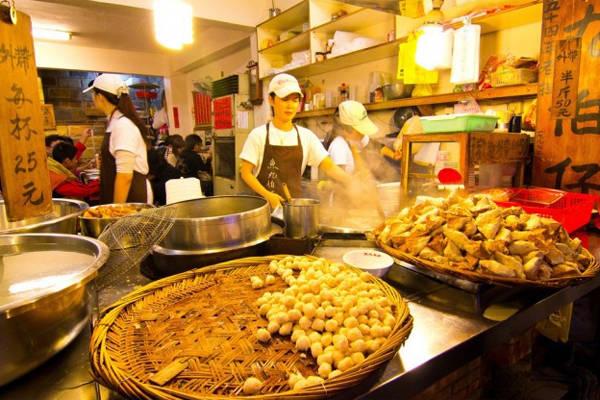 Món ăn đường phố Đài Loan rất phong phú.