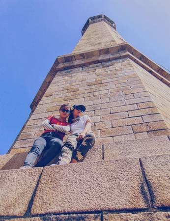 Hãy tìm cho mình những góc máy thật ấn tượng để có thể lưu lại những khoảnh khắc bên ngọn hải đăng cổ xưa này.