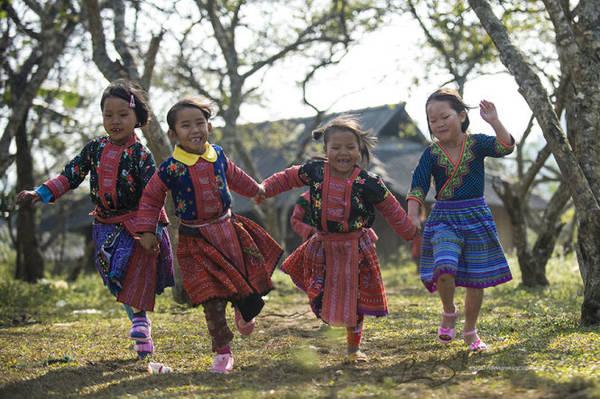 Những khuôn mặt rạng ngời không khí Tết - Ảnh: Nguyễn Vũ Phước